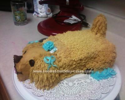 Doggie Birthday Cake on Coolest Dog Cake 62