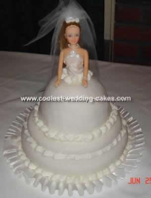 Coolest Doll Wedding Cake