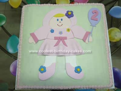 Homemade  Dolly Cake