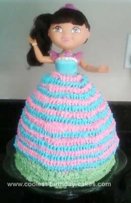 Dora  Explorer Birthday Cakes on Coolest Dora The Explorer Birthday Cake 115
