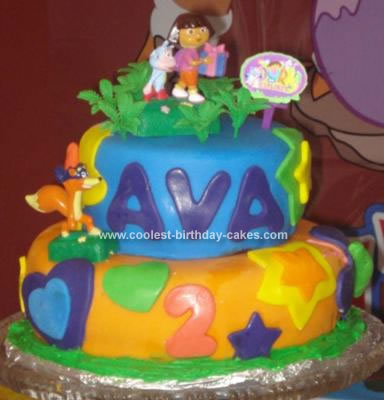 Coolest Dora Birthday Cake