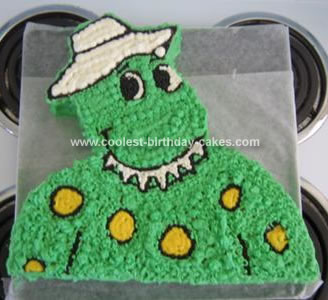 Dorothy Dinosaur Cake Template Index