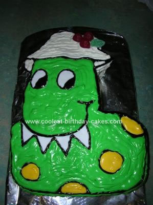 Homemade Dorothy the Dinosaur Cake
