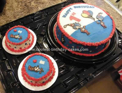 Coolest Dr Seuss 1st Birthday Cake Design 18