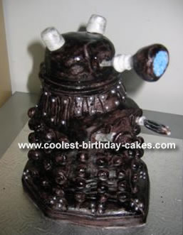 Dalek Sec Cake