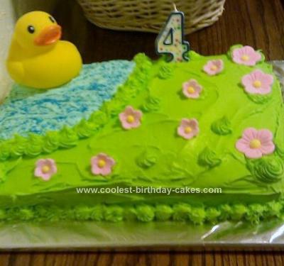 Homemade  Duck Cake
