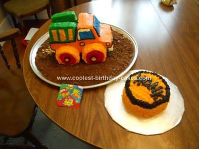 Dump Truck and Smash Cake