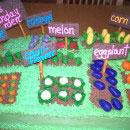 Vegetable Garden Birthday Cakes