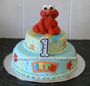 Birthday Sesame Street Elmo Candle