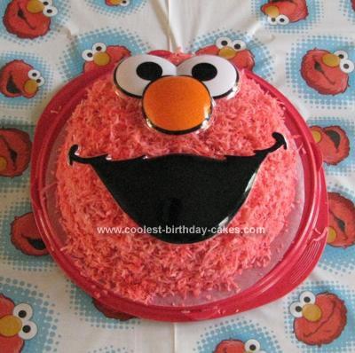 Castle Birthday Cake on Coolest Elmo Cake 72
