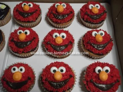elmo template for cake - elmo face templates