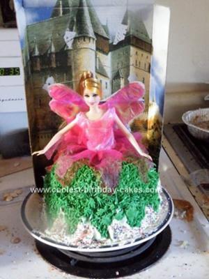 Homemade Faerie Land Cake