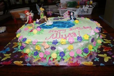 Homemade Fairies Cake