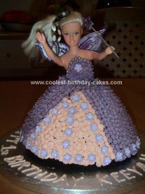 Homemade Fairy Cake