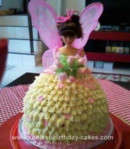 Homemade Fairy Cake Design