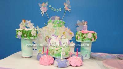 Homemade Fairy Cake Idea