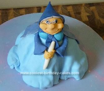 Homemade Fairy Godmother Cake