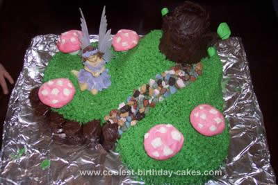 Homemade Fairy Land Cake