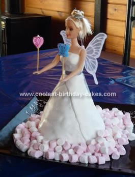 Homemade Fairy Princess Cake