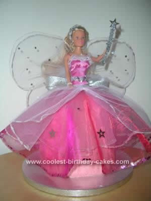 Homemade Fairy Princess Cake Design