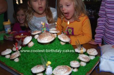 Fairy Scene Cake