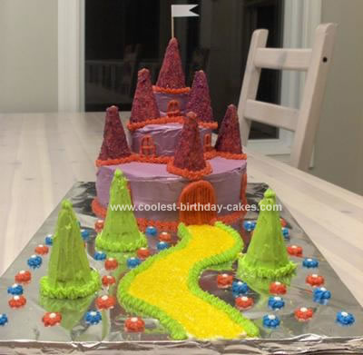 7 Year Old Birthday Cakes http://www.coolest-birthday-cakes.com/coolest-fairy-tale-castle-birthday-cake-337.html