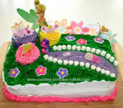 Homemade Fairyland Cake