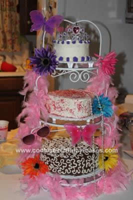 Birthday Cake  on Coolest Fancy Nancy Birthday Cake Design 5