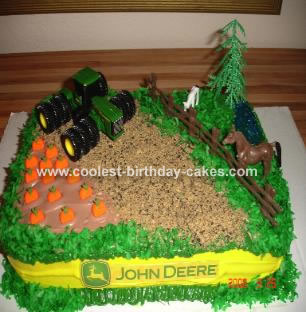 Farming Theme Cake