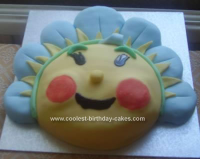 Homemade Fifi and the Flowertots Cake