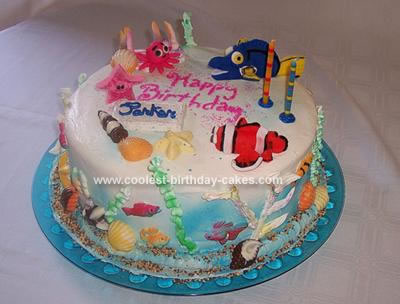 Birthday Cake on Coolest Finding Nemo Birthday Cake 32