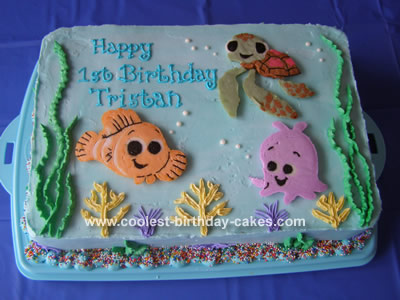 Finding Nemo Cake and Friends
