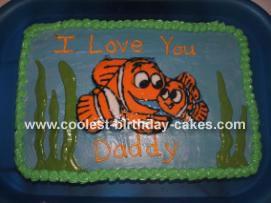 Finidng Nemo Cake