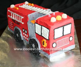 Fire Truck Birthday Cake on Coolest Fire Truck Cake 29