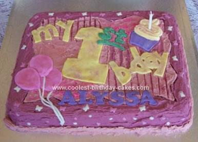 Birthday Cake Ideas on Coolest First Birthday Cake 17