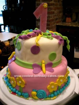 Butterfly Birthday Cake on Coolest First Birthday Cake 18