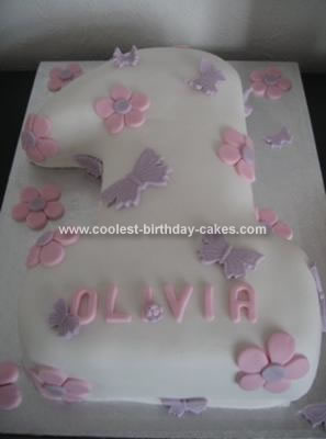Birthday Cakes  Girls on 1st Birthday Cakes For Girls