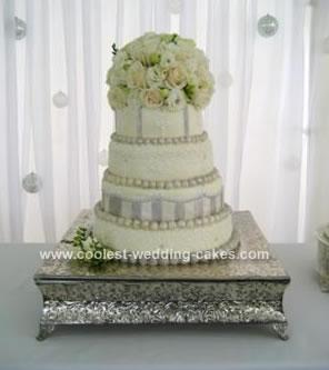 Cool Homemade Wedding Cake