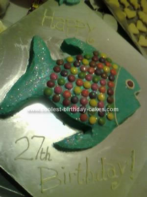 27th Birthday Cake. Shaped Birthday Cake 60
