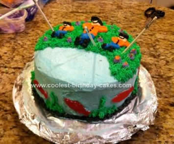 Homemade Fishermen Cake