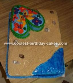 Fip Flop Cake