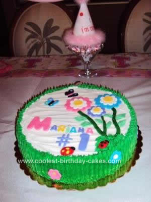 Girl Birthday Cakes on Coolest Flower Birthday Cake 39