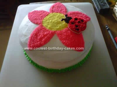 Homemade Birthday Cakes on Homemade Flower Birthday Cake
