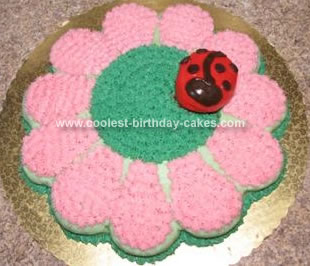 Homemade Flower Cake
