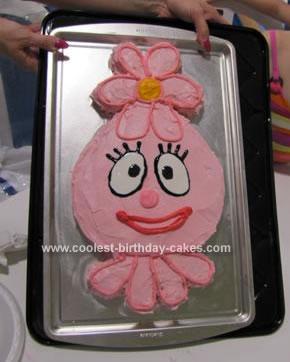Homemade Foofa Cake