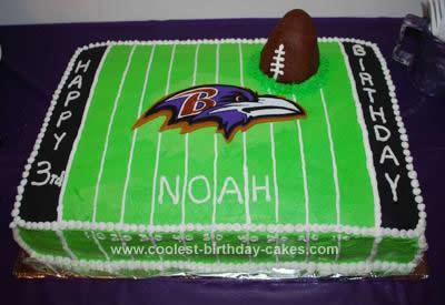 Raven Football Cake Football Cakes 16