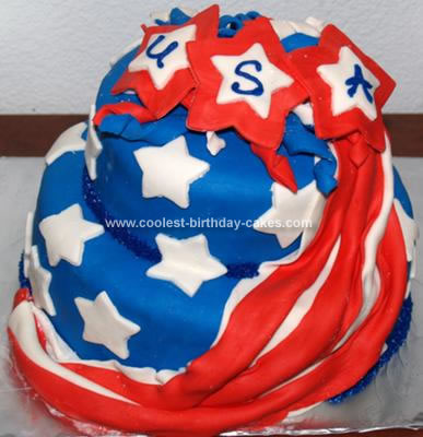 july 4 birthday cakes