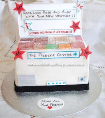 Homemade Freezer cake