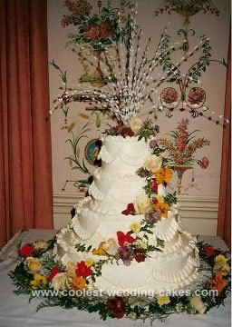 Fresh Flower Wedding Cake