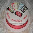 Uno Birthday Cakes